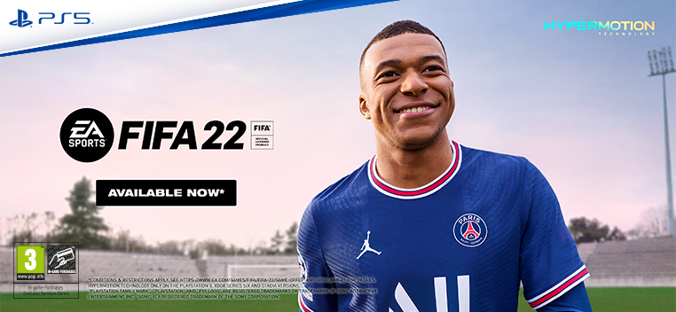 FIFA 22 Available Now