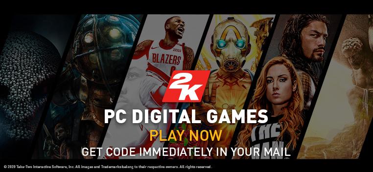 Take 2 Digital PC Games
