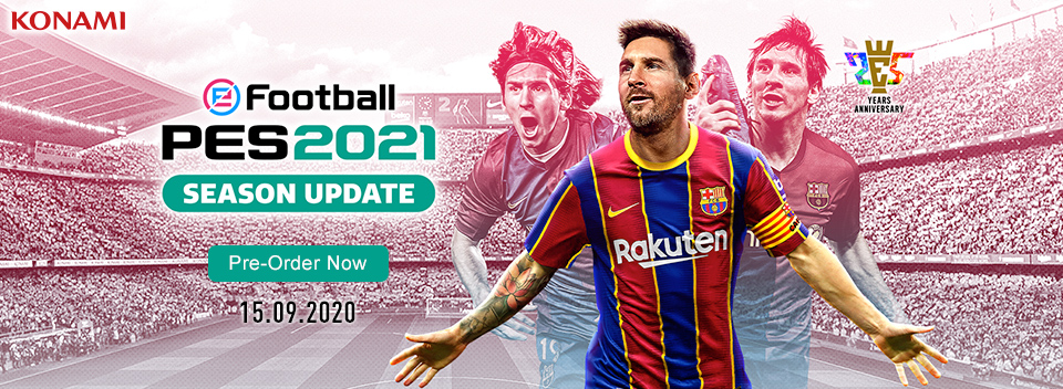 eFootball PES 2021 Pre order Now