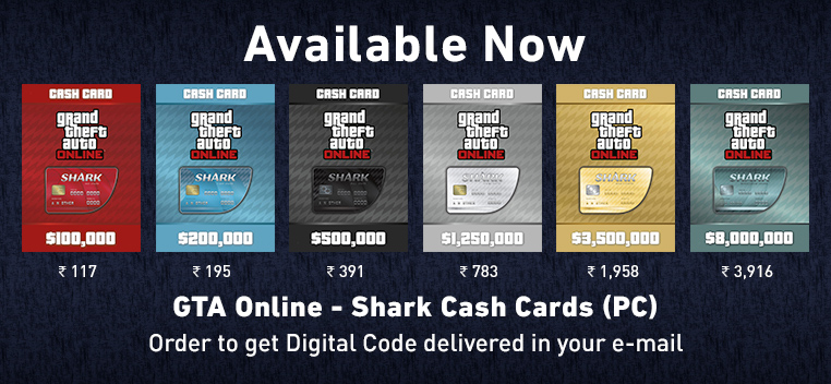 GTA Shark Cash Cards