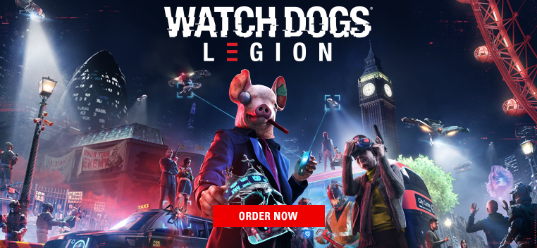Watch Dogs: Legion Order Now