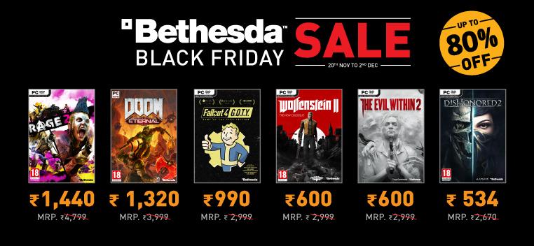 Bethesda Black Friday Sale