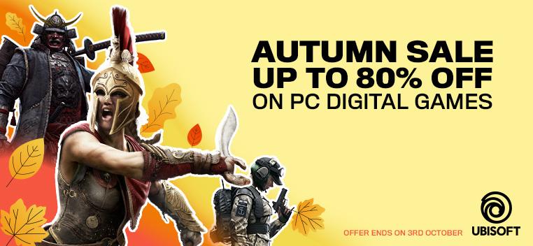 Ubisoft Autumn Sale
