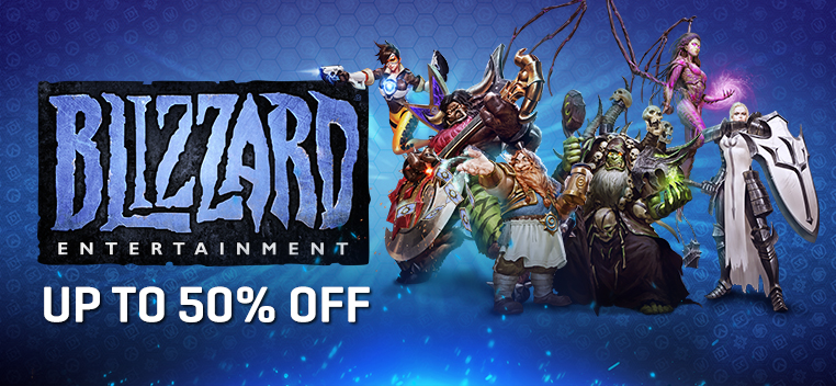 Blizzard Sale Feb 2019