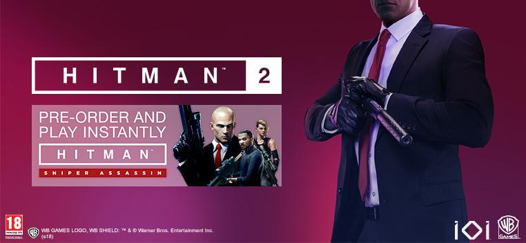 Hitman 2 Pre order Bonus