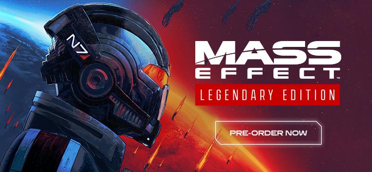 Mass Effect Legendary Edition Pre-order Now