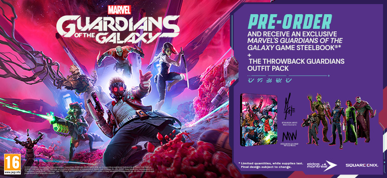 Guardians of the Galaxy Pre Order Now