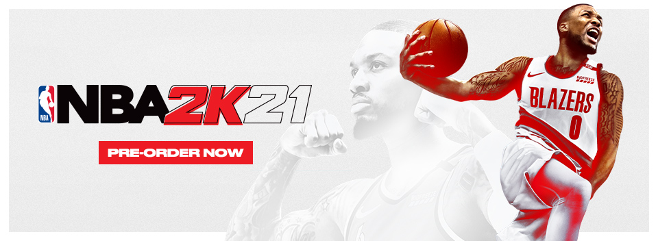 NBA 2K21 Pre order Now