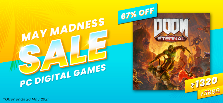 Doom Eternal May Madness Sale