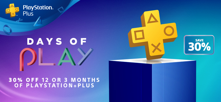 Playstation Plus Offer 30% Off