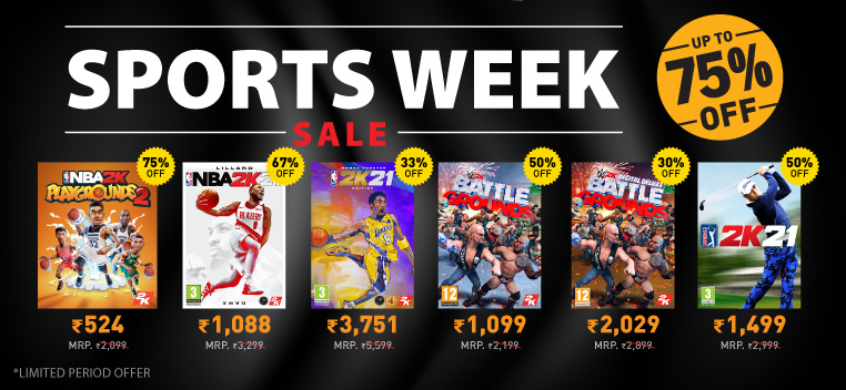 Sports Week Sale - March, 2021