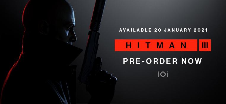 Hitman 3 Pre order Now
