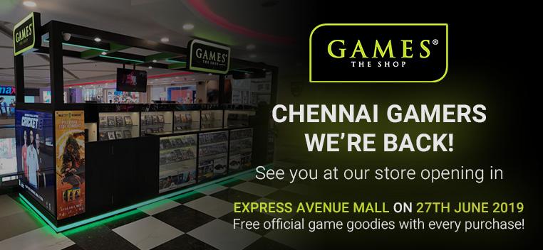 Chennai Store Opening Soon