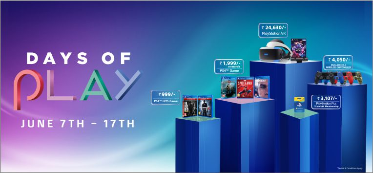 Sony Days of Play Offer