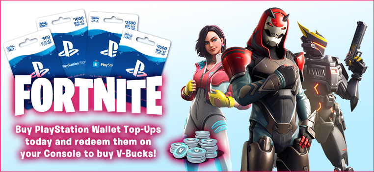 Fortnite+Wallet Top Up