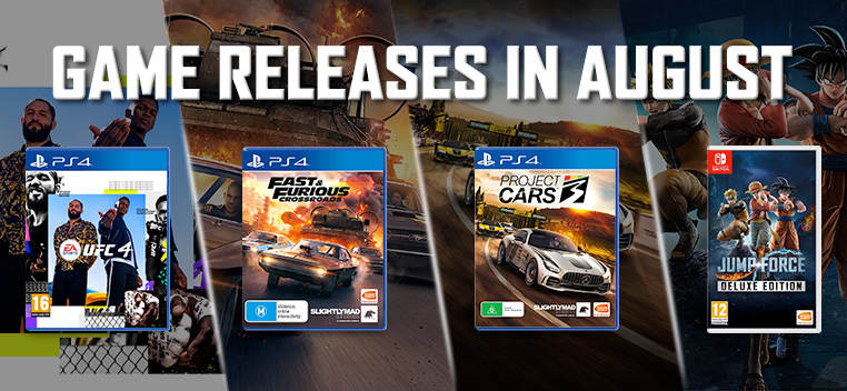 August New Releases