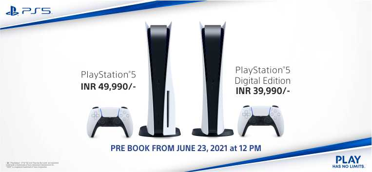 PS5 Console Pre order Now