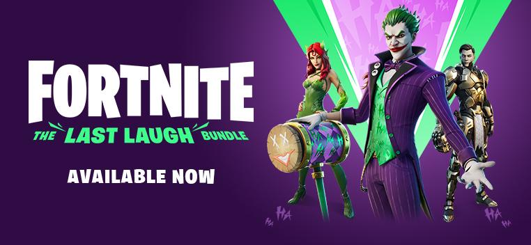 Fortnite The Last Laugh Bundle Order Now