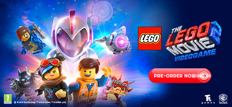 The Lego Movie 2 Videogame Preorder Now