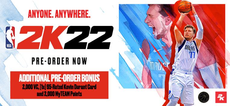 NBA 2K22 Pre-Order Now