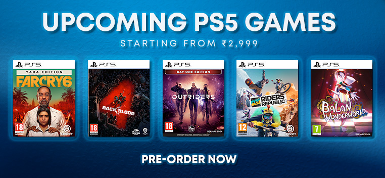 PS5 Pre order Games