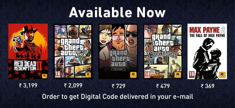Rockstar PC Digital Games