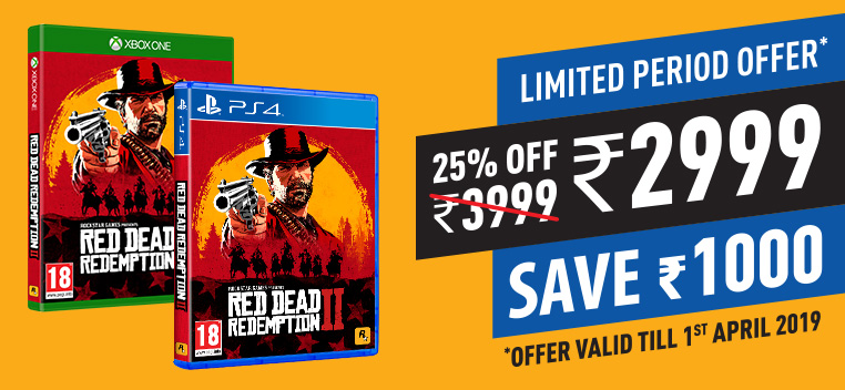 Red Dead Redemption 2 Offer