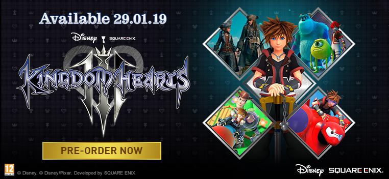 Kingdom Hearts III Pre order Now