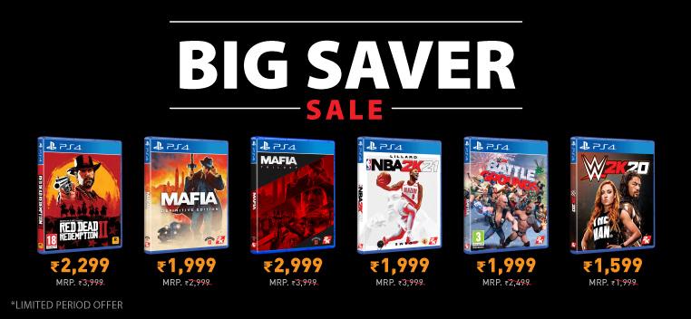Big Saver Sale