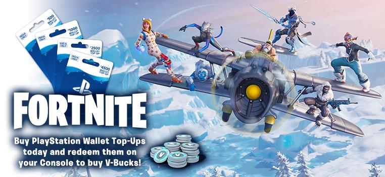 fortnite+Wallet Top Up