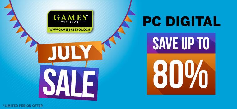 PC Digital July Sale