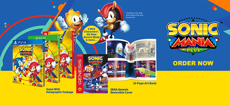 Sonic Mania Plus Order Now