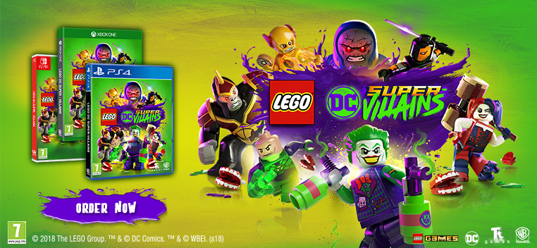 Lego DC Super Villians Order Now