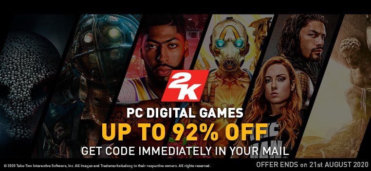 Take 2 PC Digital Offers