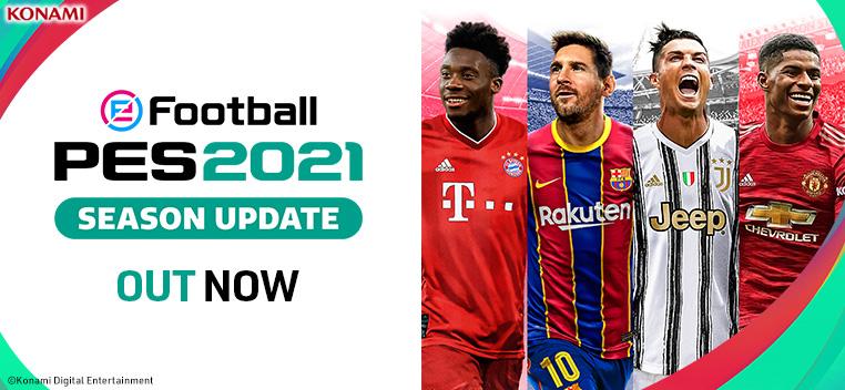 eFootball PES 2021 Season Update Order Now