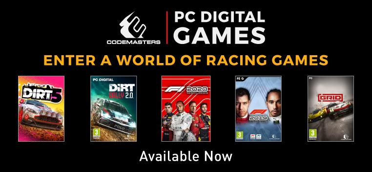 Codemaster PC Digital Games