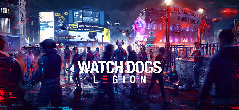 Watch dogs Legion Pre order Now