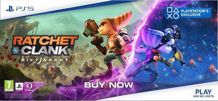 Ratchet & Clank: Rift Apart Order Now