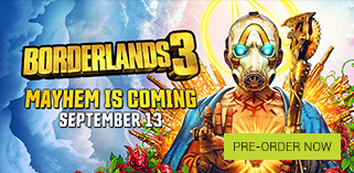 Borderlands 3 Pre order Now