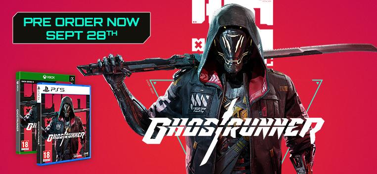 Ghostrunner Pre Order Now