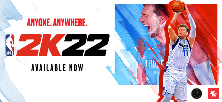 NBA 2K22 Available Now