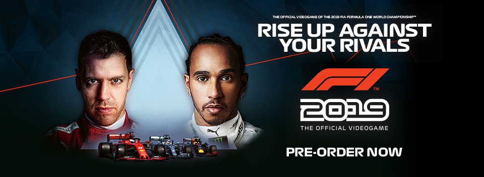 F1 2019 Pre order Now