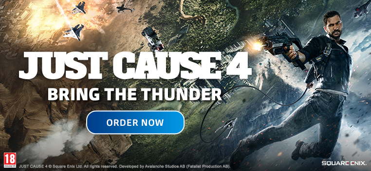 Just Cause 4 Order Now