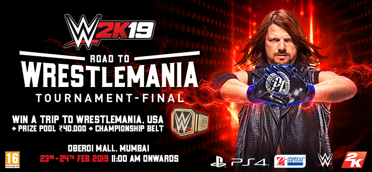 WWE 2K19 RTW Tournament Banner
