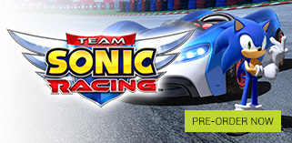 Team Sonic Racing Pre order Now