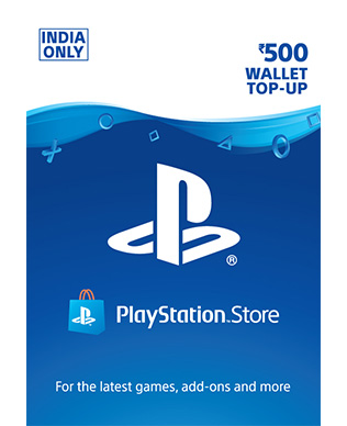 Buy Rs 500 PlayStation Network Wallet Top Up (Instant
