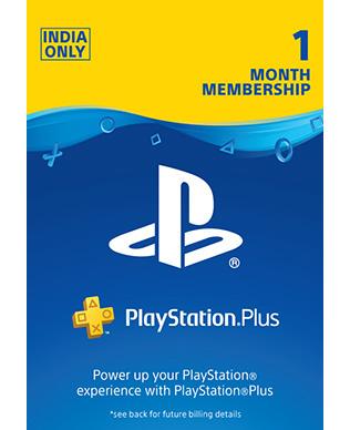 Buy PlayStation Plus 1 Month Membership Card(Indian Account