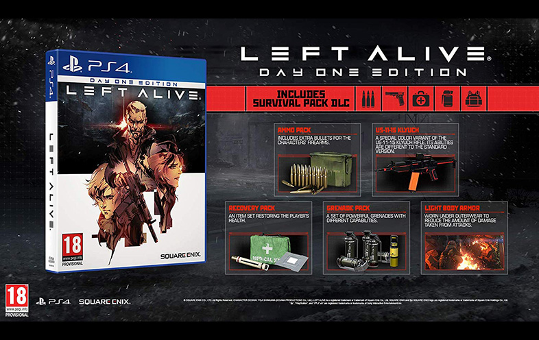 Buy Left Alive Day One Edition Online Ps4 In India At The Best Price Gamestheshop Com