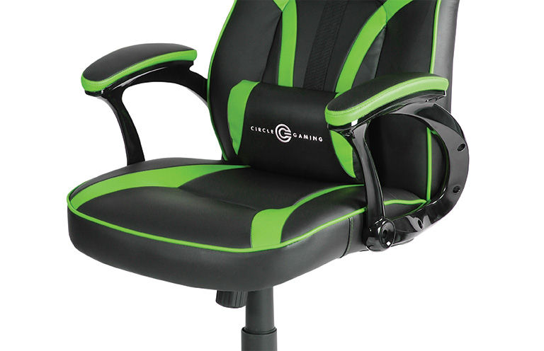 Tremendous Buy Circle Gaming Chair Ch55 Black Green Online Gaming Pdpeps Interior Chair Design Pdpepsorg