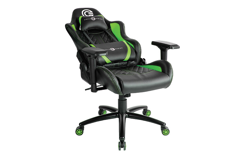 Excellent Buy Circle Gaming Chair Ch80 Black Green Online Gaming Squirreltailoven Fun Painted Chair Ideas Images Squirreltailovenorg